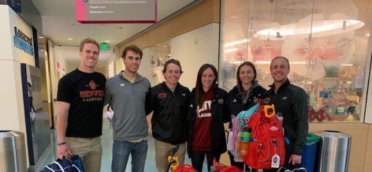 The University of Denver Lacrosse Team Volunteering